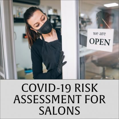 COVID-19 Risk Assessment for Salons