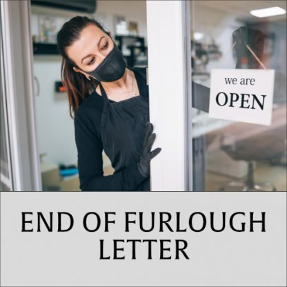 End of Furlough